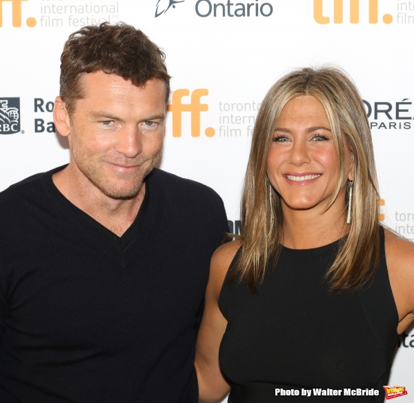 Sam Worthington and Jennifer Aniston