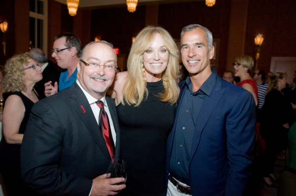 Myron Martin, Susan Anton, Jerry Mitchell Photo