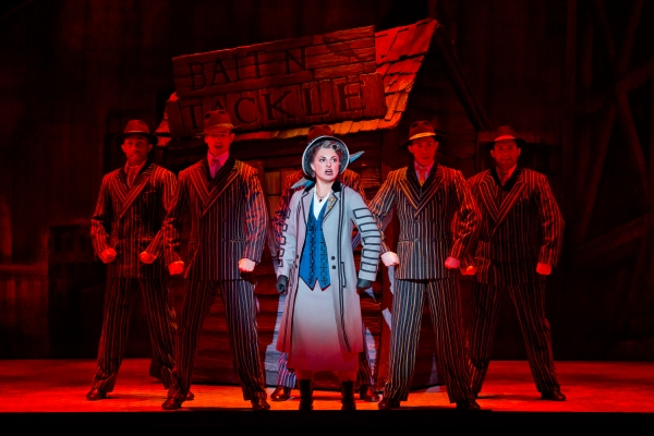 Photo Flash: First Look at Alex Enterline, Mariah MacFarlane & Company in NICE WORK IF YOU CAN GET IT National Tour!