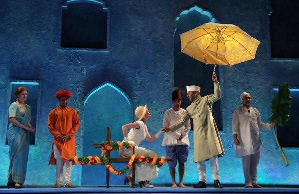 Romola Garai and Ajay Naidu