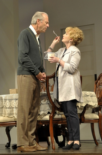 Will Lyman and Julia Duffy