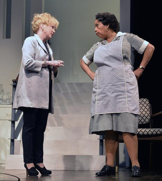 Julia Duffy and Lynda Gravatt