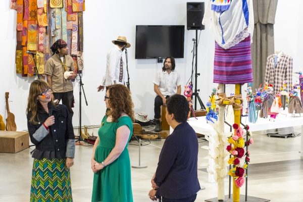 Laura Anderson Barbata and Kathleen Anderson Culebro Photo