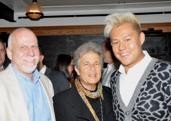 Bruce Bossard, Jayne Baron Sherman and Kelvin Moon Loh