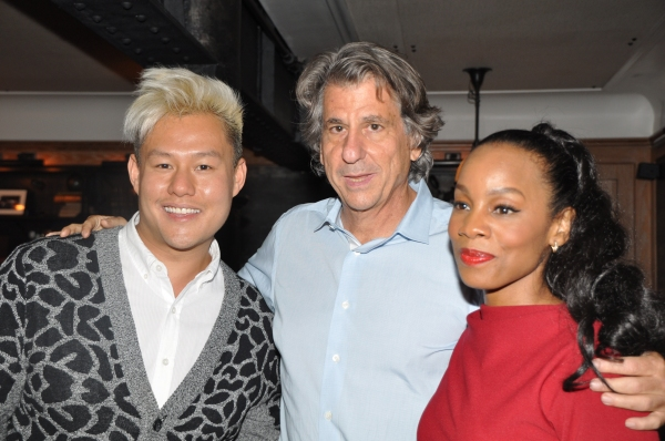 Kelvin Moon Loh, David Rockwell and Anika Noni Rose