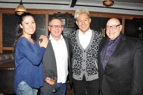 Ruthie Ann Miles, Bill Condon, Kelvin Moon Loh and Henry Krieger