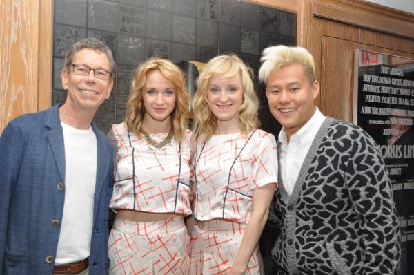 Bill Russell, Emily Padgett, Erin Davie and Kelvin Moon Loh