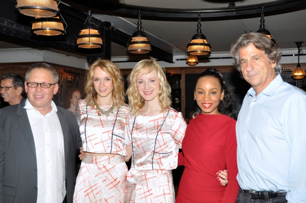 Bill Condon, Emily Padgett, Erin Davie, Anika Noni Rose and David Rockwell