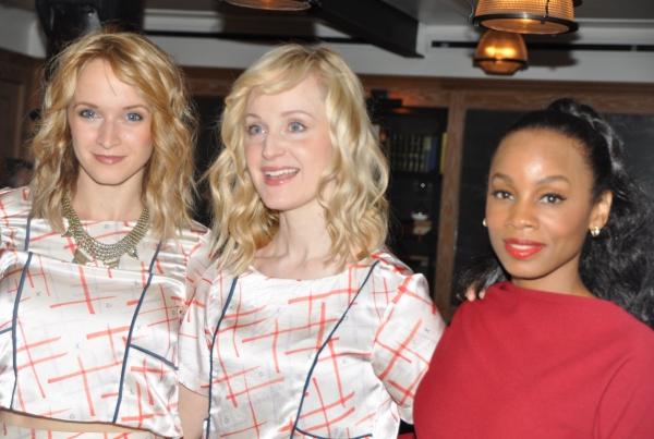 Emily Padgett, Erin Davie and Anika Noni Rose