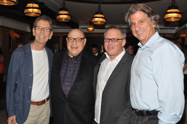 Bill Russell, Henry Krieger, Bill Condon and David Rockwell