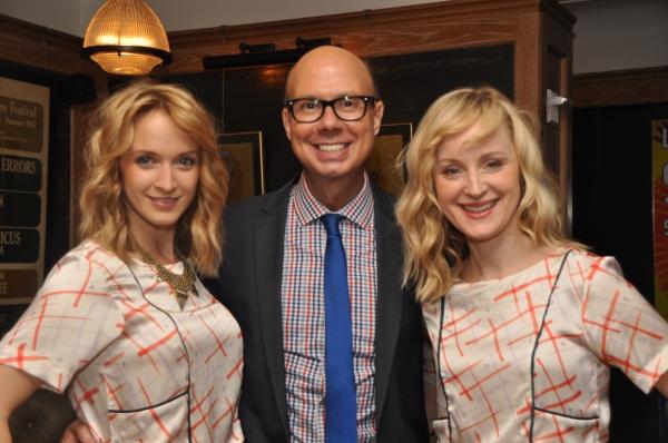 Emily Padgett, Richie Ridge and Erin Davie