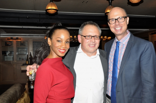 Anika Noni Rose, Bill Condon and Richie Ridge