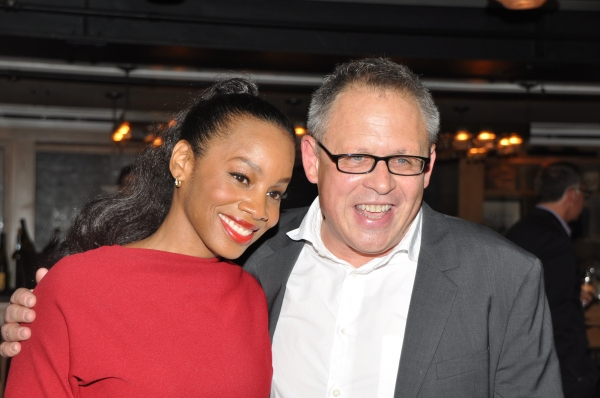 Anika Noni Rose and Bill Condon