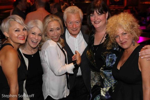 Jamie deRoy, Eda Sorokoff, Stephen Sorokoff, Ann Hampton Callaway, Bette Sussman, music director