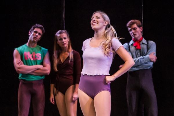 Kara Krichman (Val), Michael Pilato (Al), Christina Laschuk (Kristine) and Brian Mart Photo