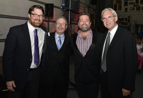 Playwright Todd Kreidler, Huntington Theatre Company Managing Director Michael Maso,  Photo