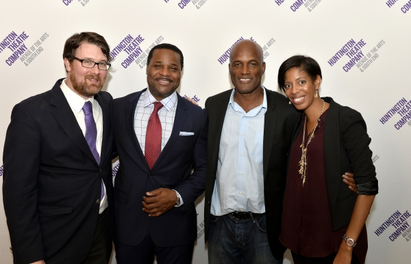 Playwright Todd Kreidler, Malcolm-Jamal Warner (Dr. John Prentice), Broadway director Kenny Leon (STICK FLY, A RAISIN IN THE SUN), and Playwright Lydia R. Diamond (STICK FLY, SMART PEOPLE)