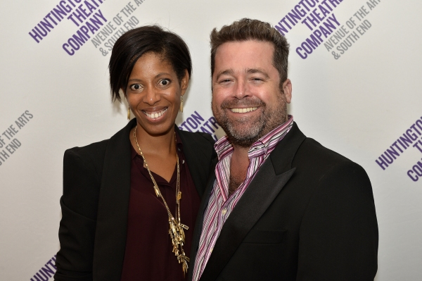 Playwright Lydia R. Diamond (STICK FLY) and Huntington Theatre Company Artistic Director Peter DuBois