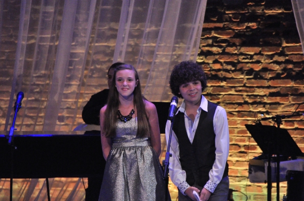 Lyrics For Life Hosts for the evening-Sadie Seelert and Cameron Ocasio