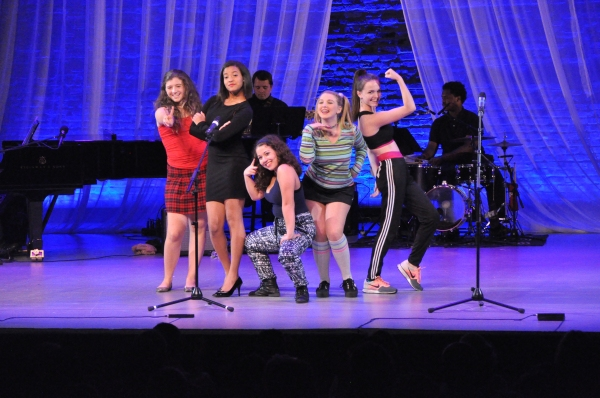 Avery Rose Pedell, Megan Johnson, Shereen Pimental, Alexis Paige and Gabriella Green
