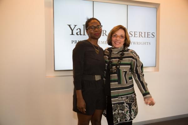 Janine Nabors with Marsha Norman