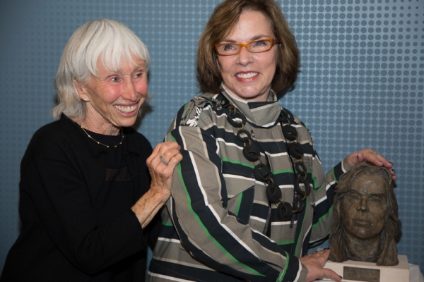 Francine Horn with Marsha Norman