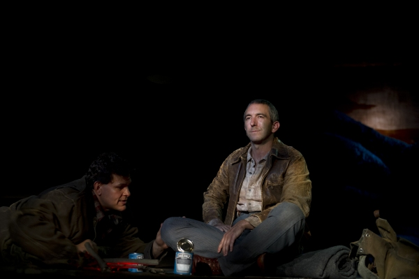 Leandro Cano as Lennie, Jarrod DiGiorgi as George