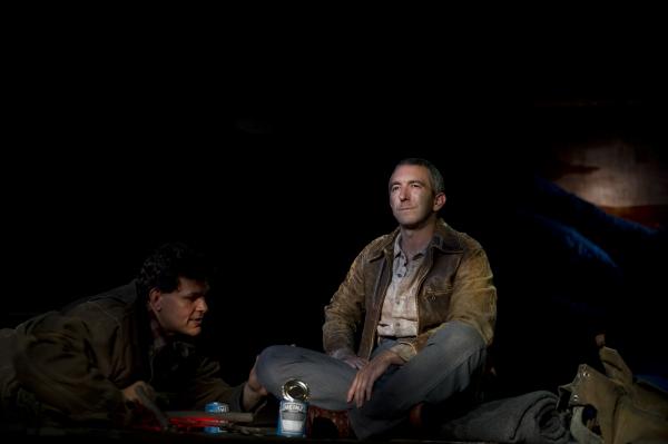Leandro Cano as Lennie, Jarrod DiGiorgi as George