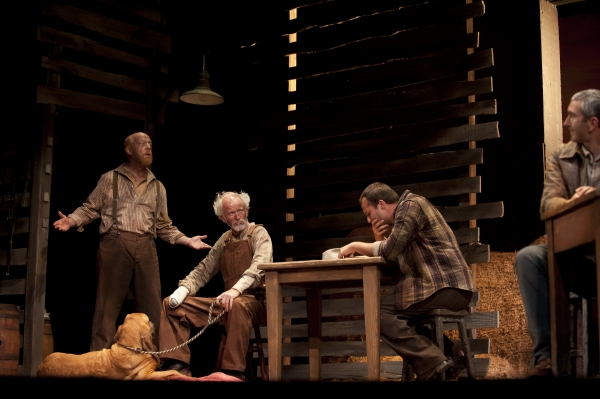 Weston Blakesley as Carlson, John McManus as Candy, Copper the Dog, Justin Fortunato as Whit, Jarrod DiGirogi as George