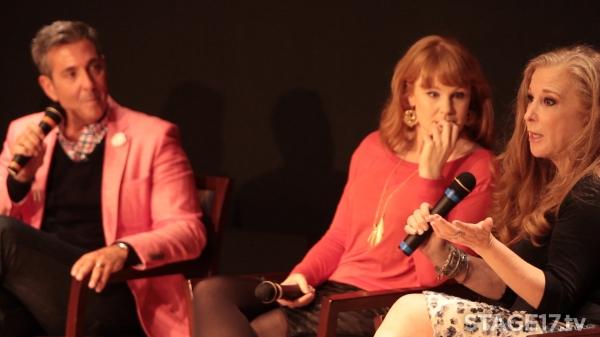 George Brescia, Kate Baldwin, and Randi Rahm.