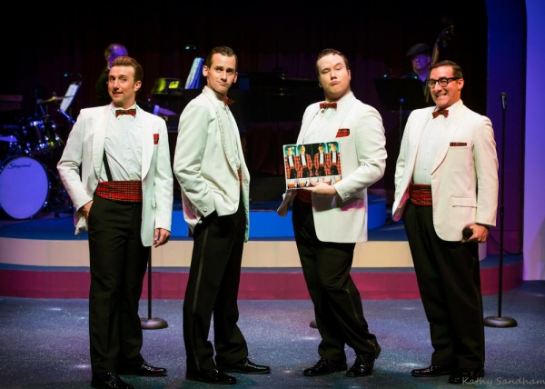 Photo Flash: First Look at FOREVER PLAID, Opening Tonight at the Beck Center