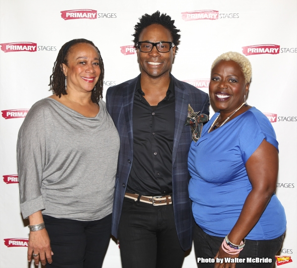 S. Epatha Merkerson, playwright Billy Porter and Lillias White