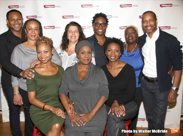 Photo Coverage: Billy Porter and the Company of WHILE I YET LIVE Meet the Press