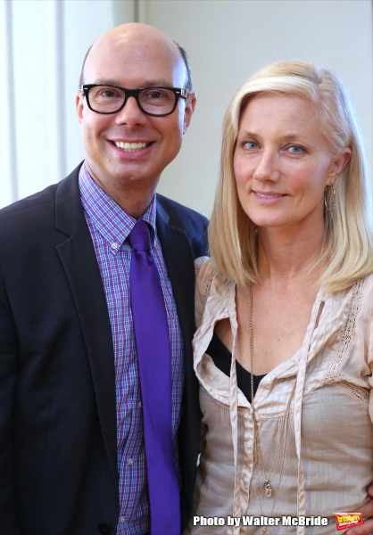 Richard Ridge and Joely Richardson