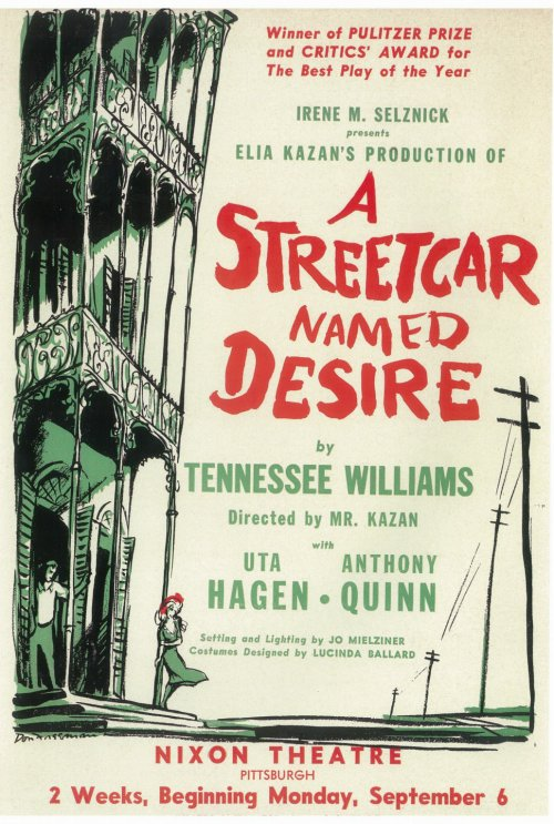 exploring the major theme in tennessee williams play a streetcar named desire Warner music group a streetcar named desire:  exploring major themes of a streetcar named desire  tennessee williams: a streetcar named desire.