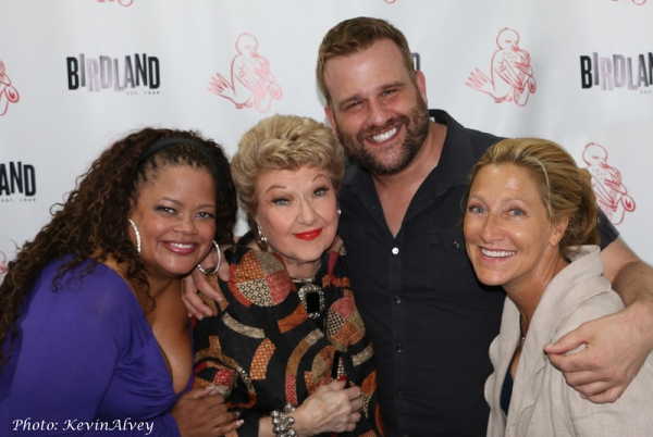 Natalie Douglas, Marilyn Maye, Stephen Wallem, and Edie Falco