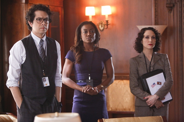 Photo flash new photos of patina miller bebe neuwirth on for Bebe neuwirth leaving madam secretary
