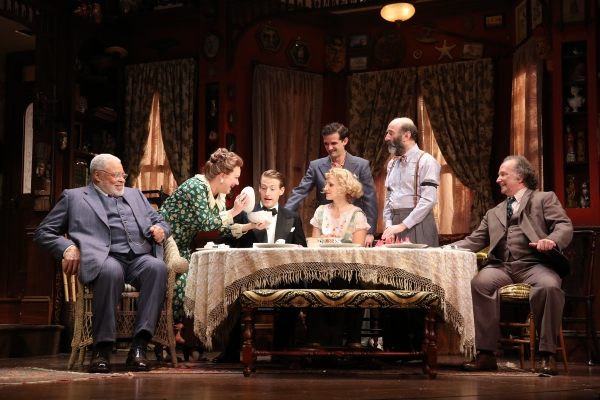 James Earl Jones, Kristine Nielsen, Fran Kranz, Annaleigh Ashford, Will Brill, Patrick Kerr and Mark Linn-Baker