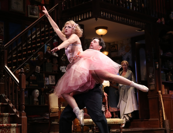 Annaleigh Ashford and Reg Rogers