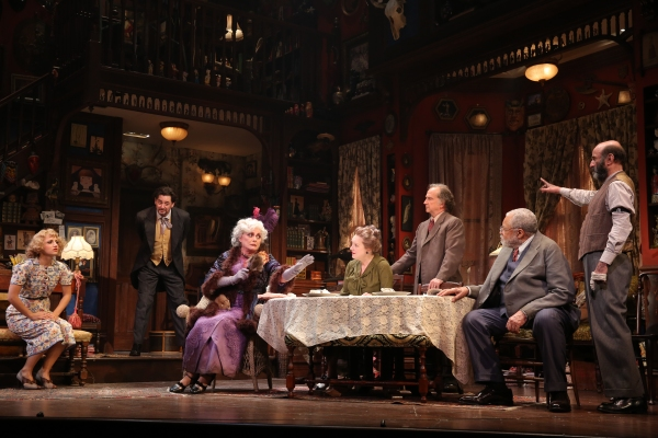 Annaleigh Ashford, Reg Rogers, Elizabeth Ashley, Kristine Nielsen, Mark Linn-Baker, James Earl Jones and Patrick Kerr