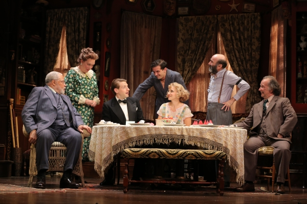 James Earl Jones, Kristine Nielsen, Fran Kranz, Reg Rogers, Annaleigh Ashford, Patrick Kerr  and Mark Linn-Baker
