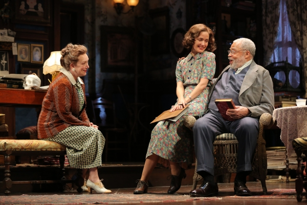 Kristine Nielsen, Rose Byrne and James Earl Jones