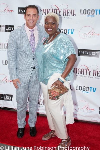 Producer Bruce Robert Harris and Lillias White