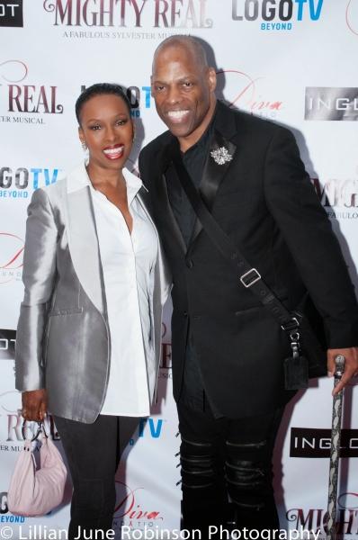 Brenda Braxton and Adrian Bailey