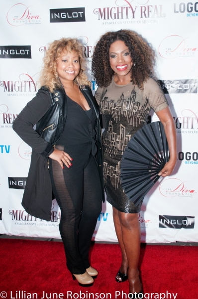 Monifah and Sheryl Lee Ralph