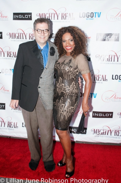 Michael Musto and Sheryl Lee Ralph