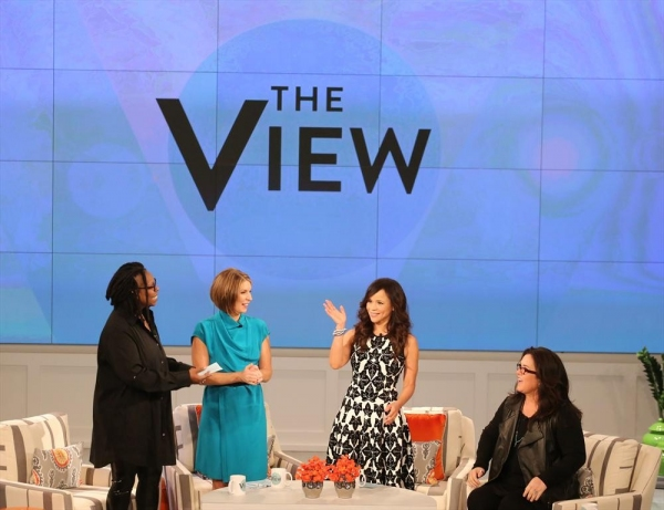 THE VIEW - A new season of â�¿��¿�The Viewâ�¿��¿� begins with Whoopi Goldberg, Rosie Oâ�¿��¿�Donnell and new hosts Rosie Perez and Nicolle Wallace. All the excitement aired live, today, MONDAY SEPTEMBER 15 (11:00 a.m.-12:00 noon, ET) on the ABC Televis