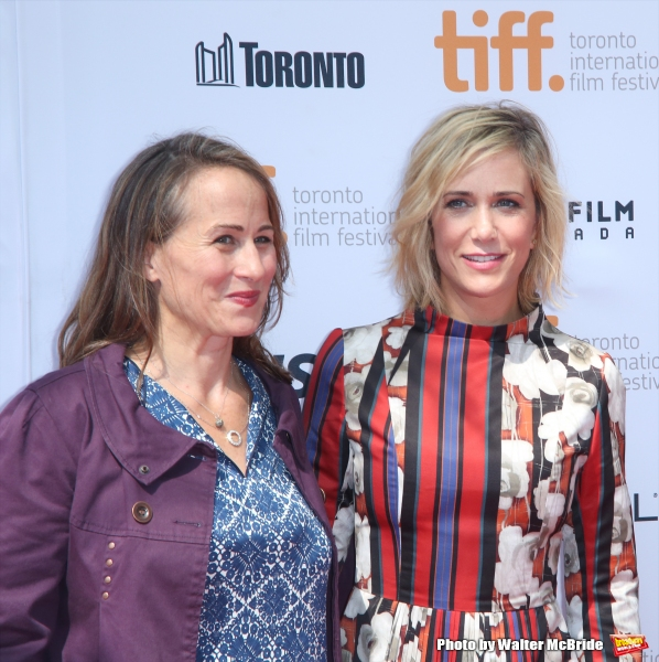 director Shira Piven and Kristen Wiig