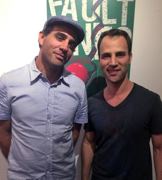 Bobby Cannavale and Neil Holland