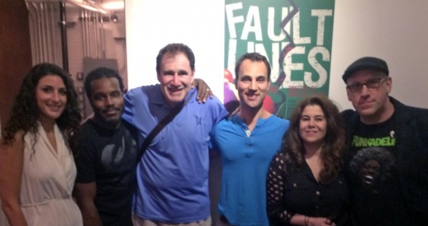 Photo Flash: Bobby Cannavale, Richard Kind and More Visit Knife's Edge Productions' FAULT LINES